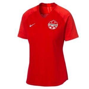 Canada womens soccer 2019 Nike strike home jersey